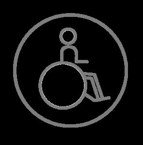 Accès personnes à mobilité réduite
